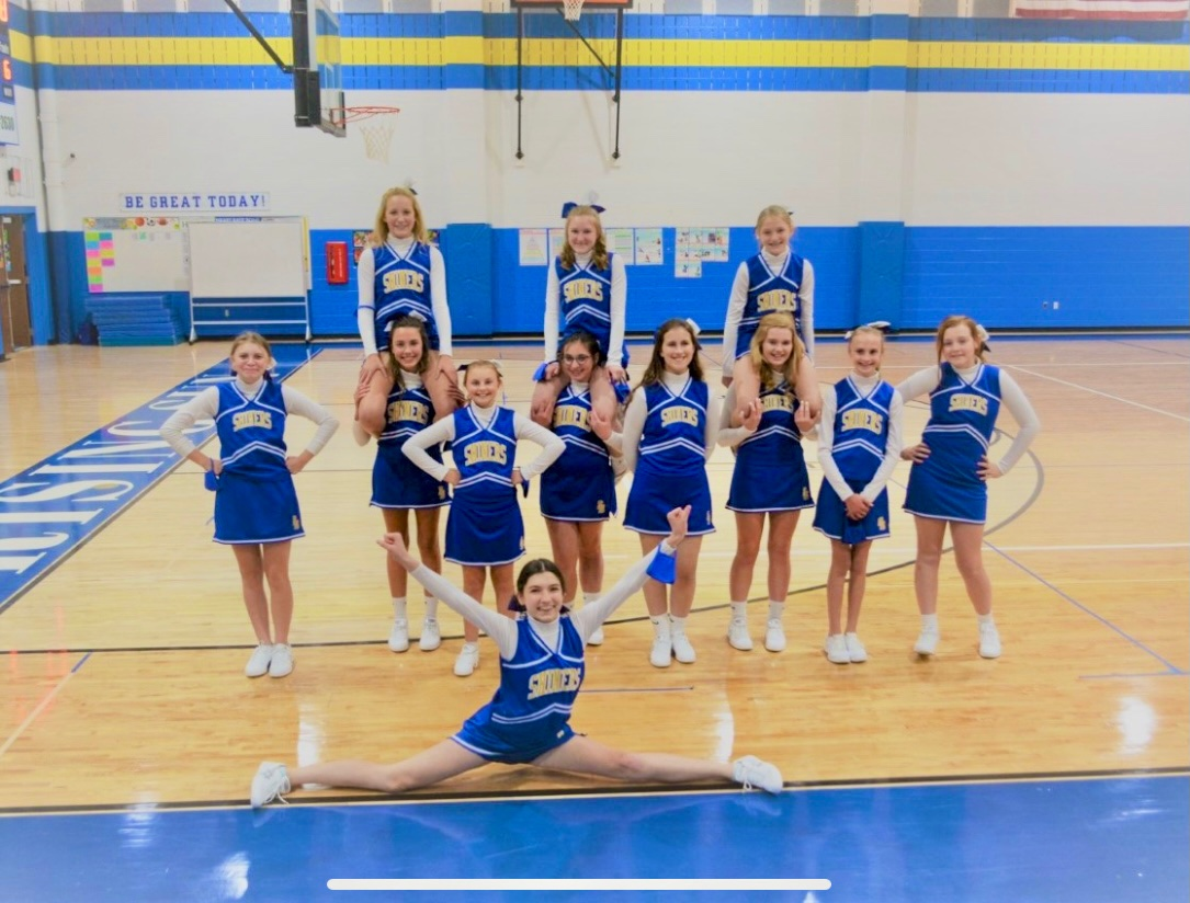 Middle School Cheerleading